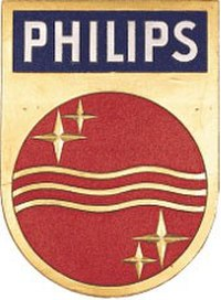 Original Philips shield introduced in 1938