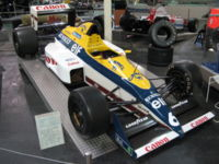 A Williams-Renault FW12C from.