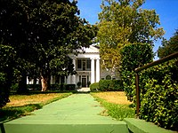 Historic residence of late Louisiana Lieutenant Governor Thomas Charles Barret at Fairfield and Prospect.
