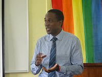 Maurice Tomlinson, Toronto-based lawyer and gay rights activist from Jamaica