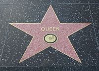 Queen's star on the Hollywood Walk of Fame at 6358 Hollywood Boulevard