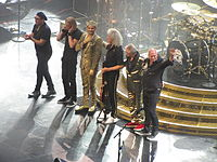 Queen + Adam Lambert concert at the TD Garden, Boston in July 2014