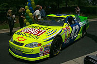 Irwin's Project Impact car, May 2000
