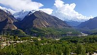 Most of the inhabitants of the Hunza Valley in Pakistan are Ismaili Muslims