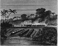 Cannons and guns belonging to the Aceh Sultanate (in modern Indonesia).