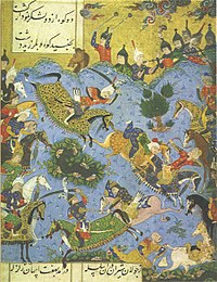 Battle between Ismail of the Safaviyya and the ruler of Shirvan, Farrukh Yassar