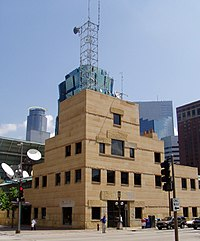 WCCO-TV on the Nicollet Mall. The channel is named for Washburn Crosby Company (later, General Mills) who purchased the radio station WCCO.