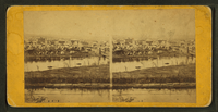 Stereoscopic view of Minneapolis, early 20th century