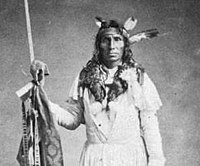 Taoyateduta was among the 121 Sioux leaders, who from 1837 to 1851, ceded the land where Minneapolis developed.