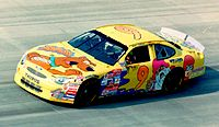 Nadeau in the Melling Racing No. 9 at Dover, 1998
