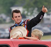 Austin Dillon finished second in the championship behind Kobyluck by 210 points.