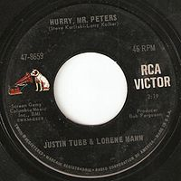 RCA used this label for its American 45 rpm records during the Dynagroove era from 1965 to 1968