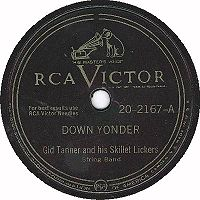 Standard RCA Victor 78 RPM label design from just after the end of World War II until 1954