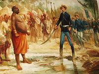 In the 19th century, Portugal launched campaigns to solidify Portuguese Africa.