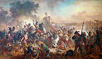The Portuguese victory at the Second Battle of Guararapes ended Dutch presence in Pernambuco.