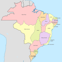 Provinces of the Portuguese Empire in the Americas by 1817