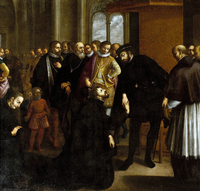 St. Francis Xavier requesting John III of Portugal for a missionary expedition in Asia