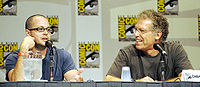 Damon Lindelof (left) co-created the series and served as an executive producer and showrunner alongside Carlton Cuse (right).