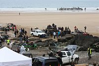 The Marloes Sands filming location for Snow White & the Huntsman