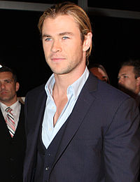 Hemsworth at the Snow White and the Huntsman movie premiere, Sydney in June 2012