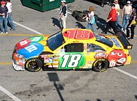 Kyle Busch has given Toyota over 150 wins across NASCAR's three national series