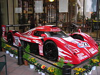 The Toyota GT-One was raced in the 1998 and 1999 24 Hours of Le Mans. Ex-Formula One drivers: Thierry Boutsen, Martin Brundle and Ukyo Katayama drove the GT-One in both events.