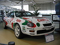 Group A -category Toyota Celica GT-Four ST205.