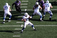 The Indianapolis Colts of the National Football League have been based in the state since 1984.
