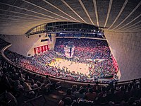 Simon Skjodt Assembly Hall, home to Indiana Hoosiers men's basketball