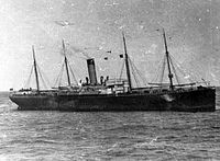 The, which had tried to warn Titanic of the danger from pack-ice