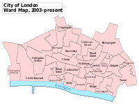 A map of the wards since 2003