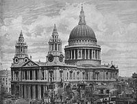 St Paul's Cathedral, 1896.