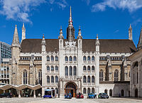Guildhall is the ceremonial and administrative centre of the City.