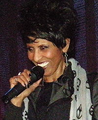 Nona Hendryx appearing at 2009 Pop Conference, Experience Music Project, Seattle, Washington. (6 April 2009)