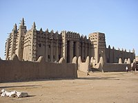 The Great Mosque of Djenné.