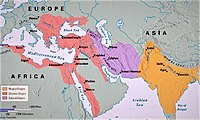 The Age of the Islamic Gunpowders dominating the western, central and South Asia.