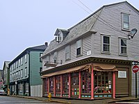 Colonial buildings in the Newport Historic District
