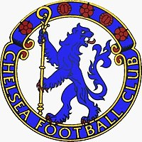 Chelsea's crest from 1953–1986; the present day crest was modelled on this one.