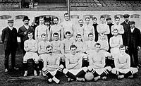 The first Chelsea team in September 1905
