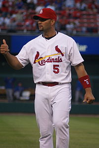 Pujols is among the top 10 players all-time in four categories