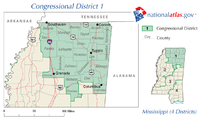 2008 United States House of Representatives elections in Mississippi