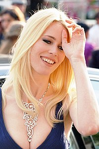 Schiffer at the 2007 Cannes Film Festival, May 2007