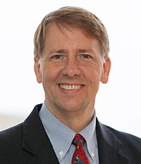 Cordray's first official portrait at CFPB
