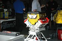 The Honda engine that Indycar would use from 2006 until 2011.
