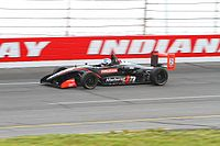 U.S. F2000 driver Heamin Choi at Lucas Oil Raceway in 2012.