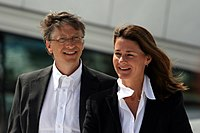 Bill and Melinda Gates, founders of the Gates Foundation