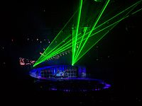 Van Halen's elaborate stage productions required extra security included in their contract riders
