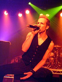 Vocalist Gary Cherone (pictured in 2008) joined the band briefly in the late 1990s.