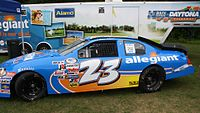 Gallagher's 2013 ARCA car on display at Road America