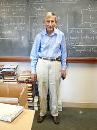 Freeman Dyson in 2007 at the Institute for Advanced Study